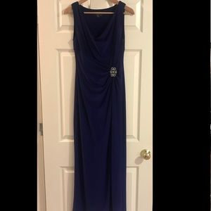 Ralph Lauren Evening Sleeveless Gown